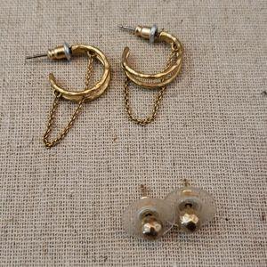 2 Stella & dot earrings